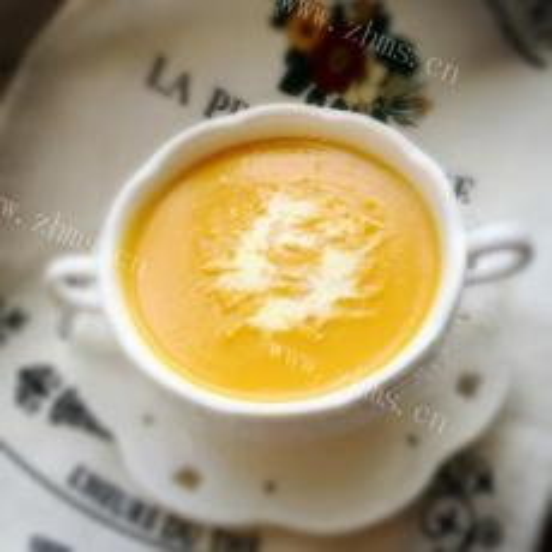 美味的红枣南瓜汤