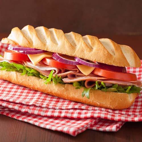 特色美食三明治