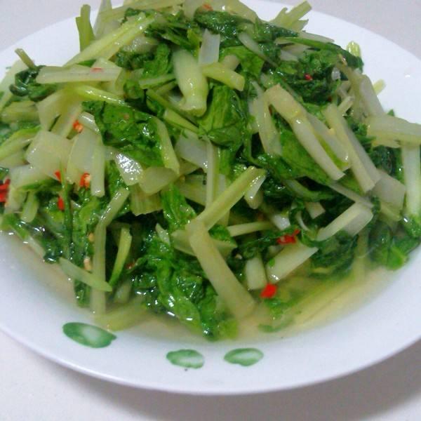 蒜蓉炒青菜