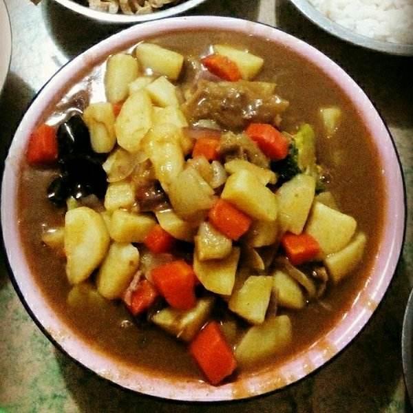 美味咖喱牛肉土豆