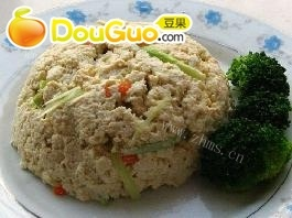 简单的小葱拌豆腐