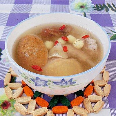 淮山百合莲子老鸭汤