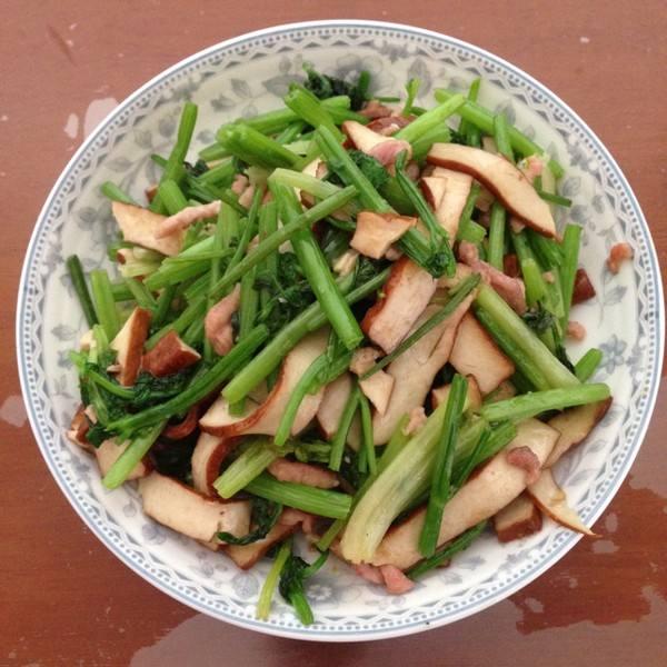 好吃的芹菜香干炒肉丝