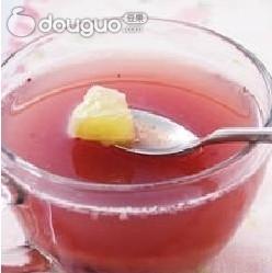 #爱美食#红菜火龙果汁