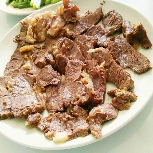 自制酱牛肉