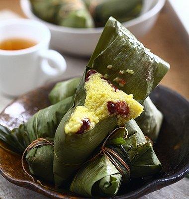 自制黄米粽子