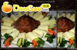 美味海鲜蔬菜卷