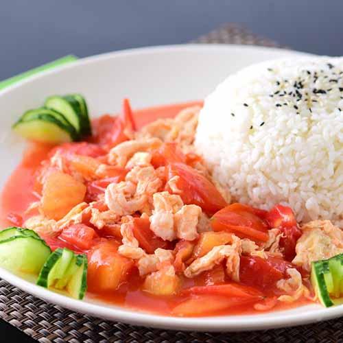 西红柿炒鸡蛋(原创)