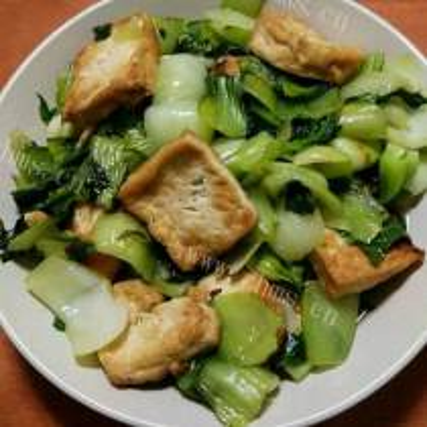 青菜炒豆腐