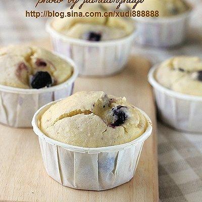 蓝莓芝士马芬蛋糕