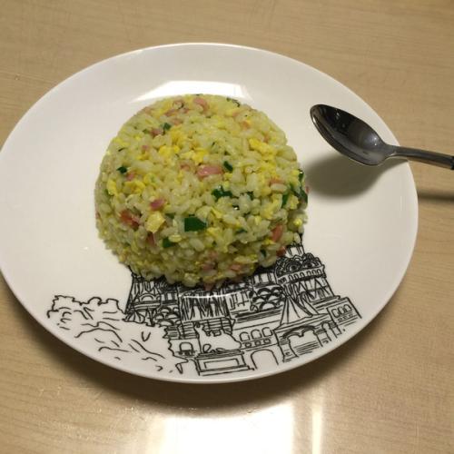 韭菜蛋炒饭