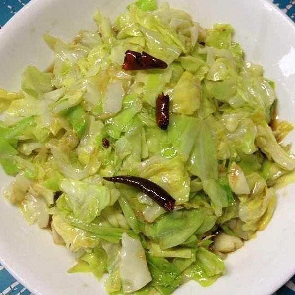 素炒洋白菜