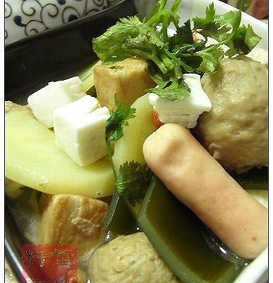 砂锅杂菜汤