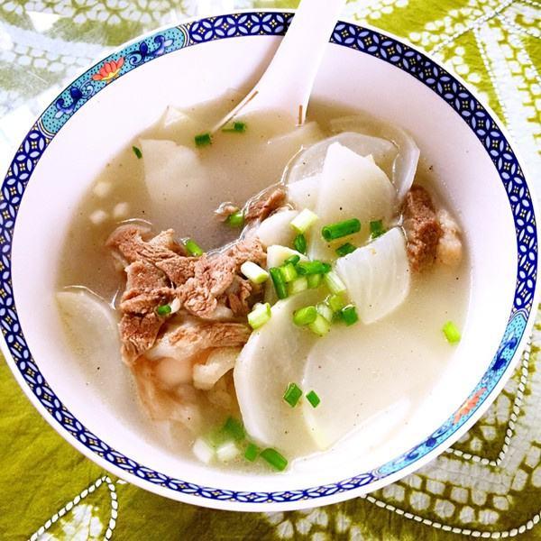 猪骨菜干汤