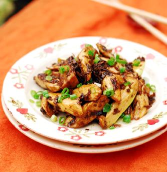 梅菜烤茭白