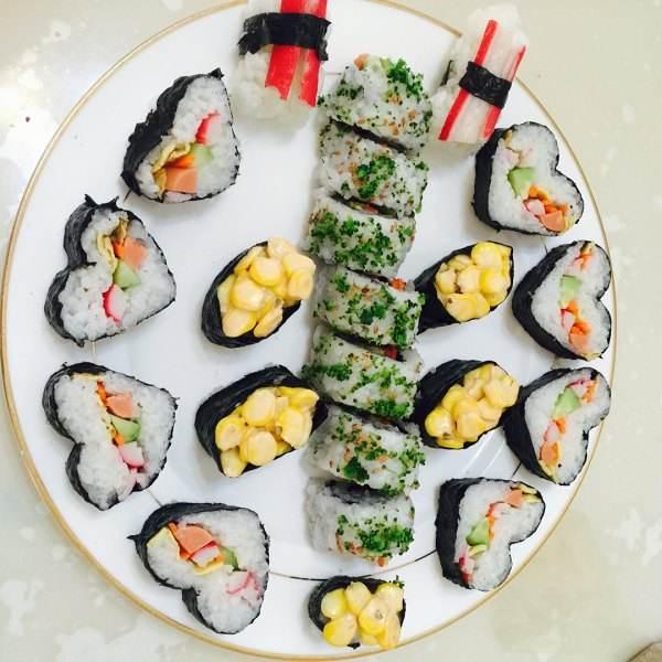 花样寿司--户外美食