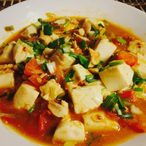 【健康美食】肉末豆腐
