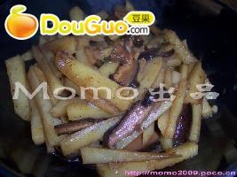 自制香菇薯条
