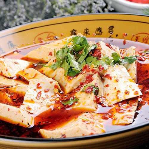美味营养的麻辣豆腐