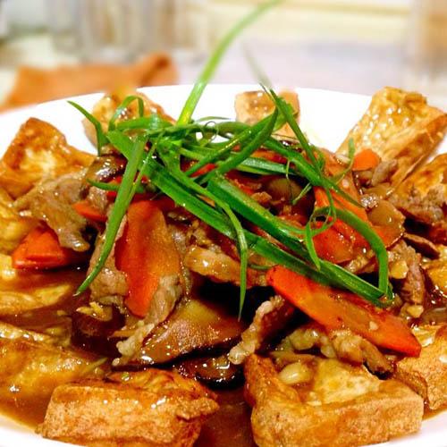 喷香的红烧豆腐