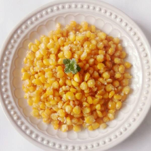家常的金沙玉米