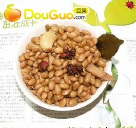 家常菜蒜香黄豆