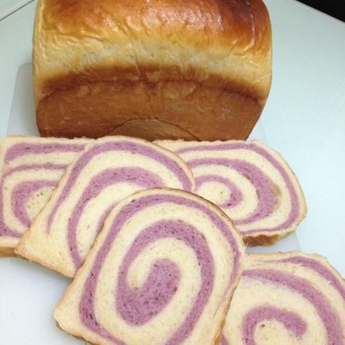 紫薯双色吐司