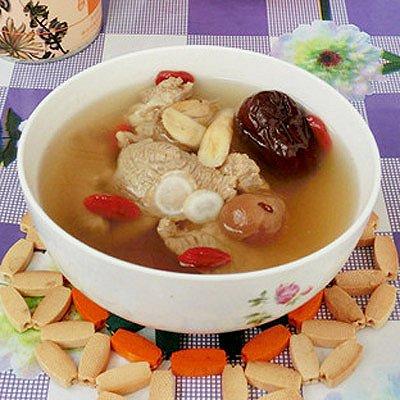 花旗参黄芪羊肉汤