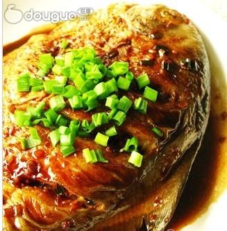 #爱美食#干烧鲳鱼
