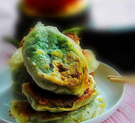 韭菜鸡蛋哈饼