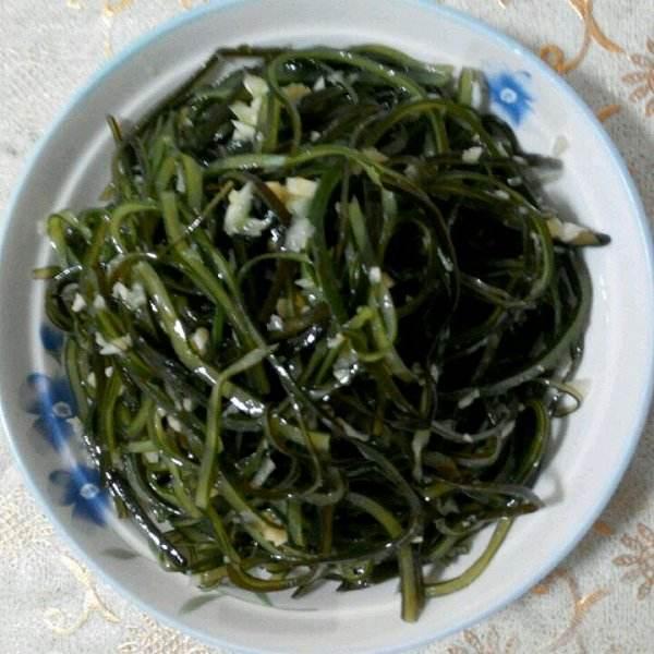 蒜蓉海带丝