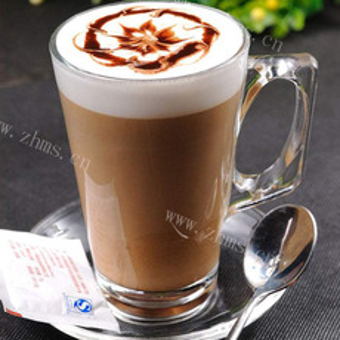 好吃的卡布奇诺咖啡
