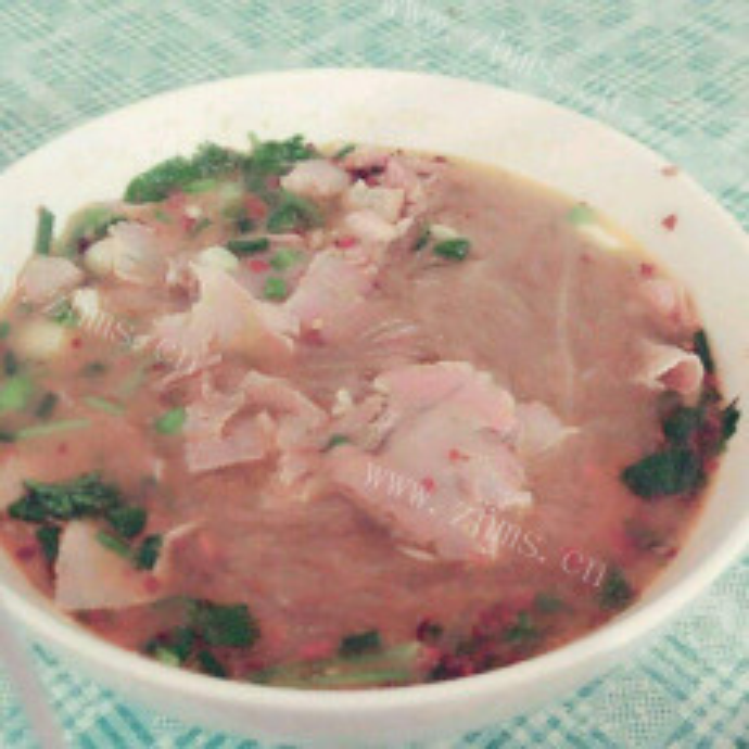 鲜香爽辣的淮南牛肉汤