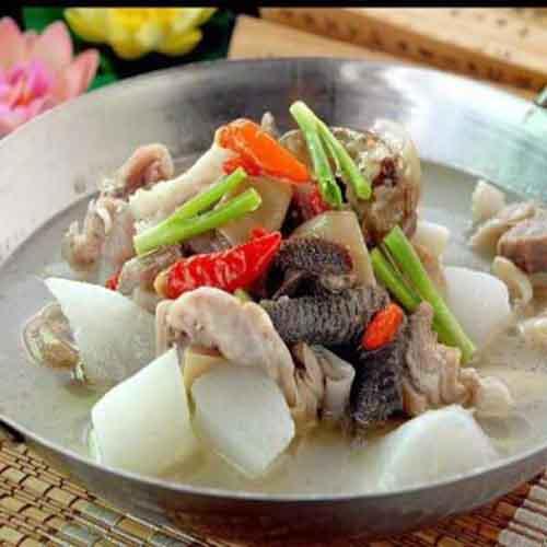 鲜香羊肉汤锅