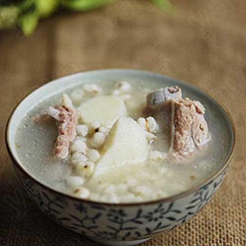 养生山药薏米排骨汤