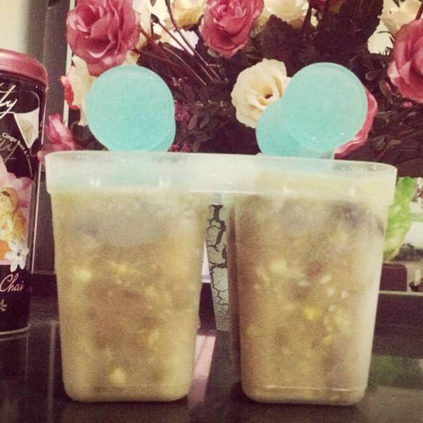 绿豆沙冰棍