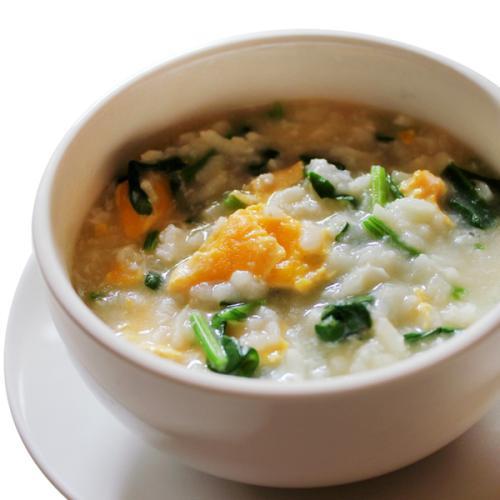 青菜冬季养生粥
