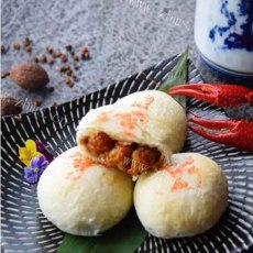 香酥小龙虾月饼