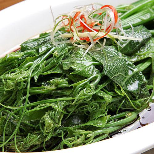 美味的龙须菜
