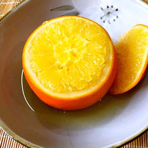 盐蒸橙子(家庭版)