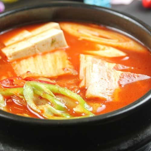 香喷喷的韩国泡菜汤