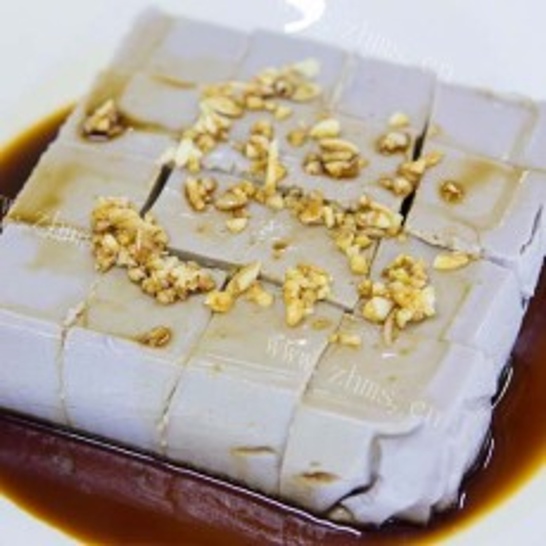 家常花生豆腐