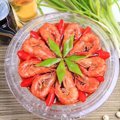清淡的红烧大虾的做法