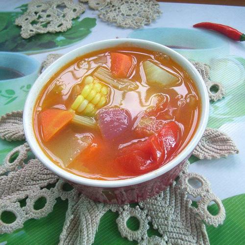 营养的七日瘦身汤
