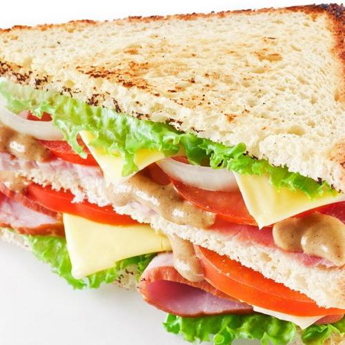 卷心菜沙拉三明治