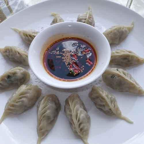 鲜美的茴香苗饺子