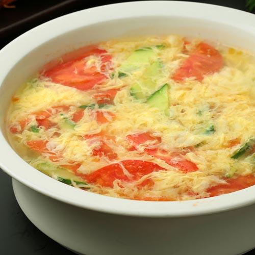 简单的丝瓜鸡蛋汤