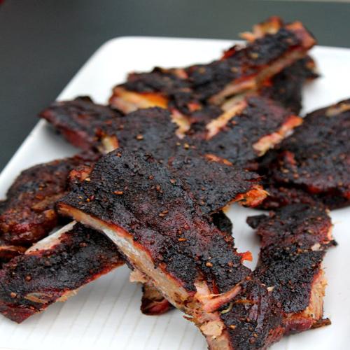 美味的自制烤肉