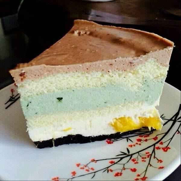 可可酸奶蛋糕