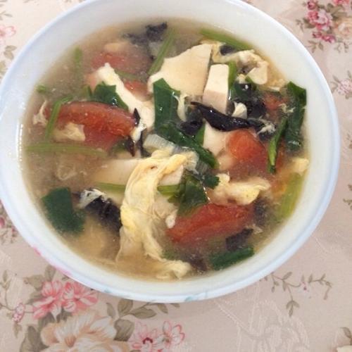 鸡蛋豆腐汤
